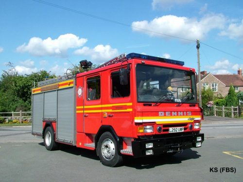 Dennis Rapier of Shropshire FRS at Whitchurch